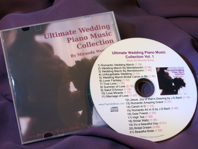 Ultimate Wedding Piano Music Collection Vol.1 (Audio CD)